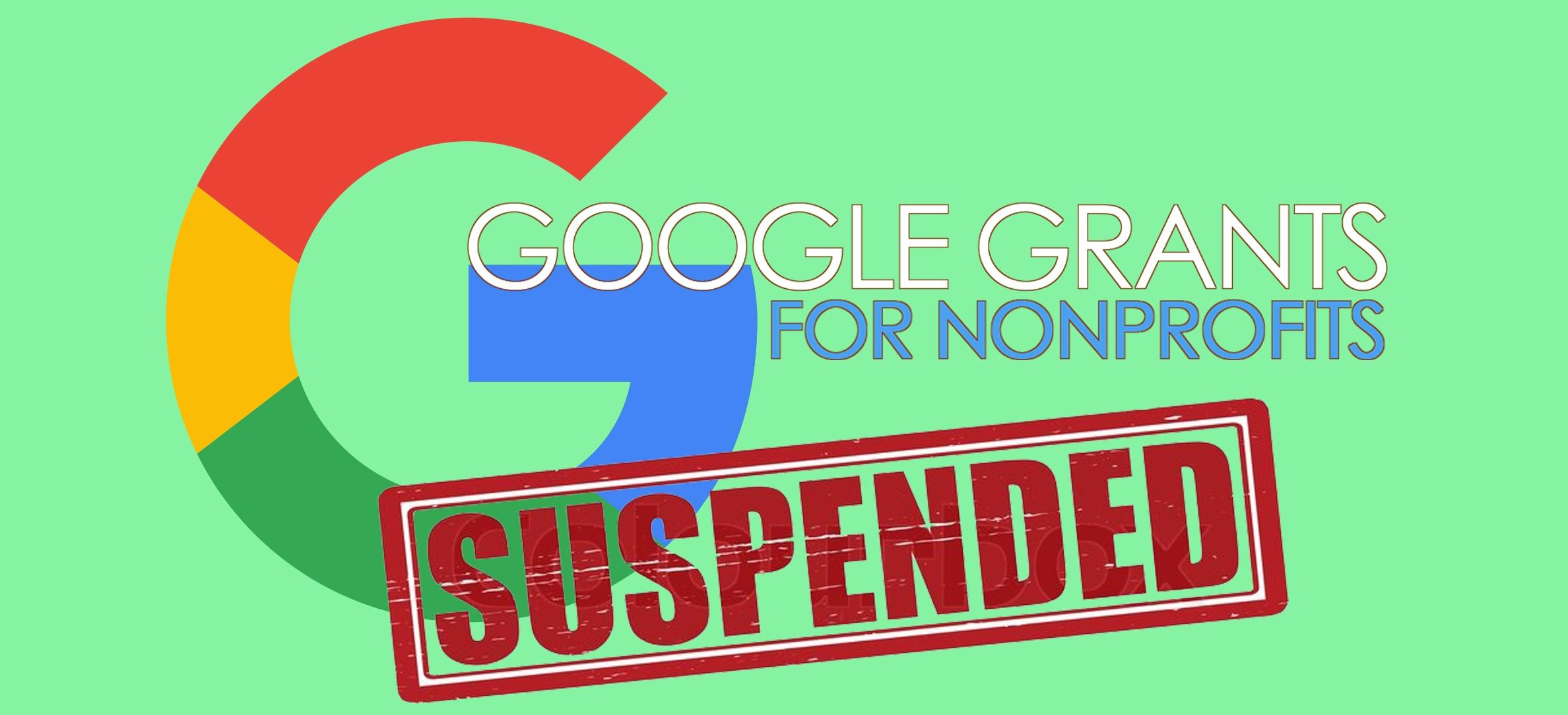 Google Ad Grants Account Deactivations